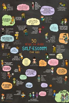 50 Ways to Build Self-Esteem for kids! Fun school counseling lesson and art ther… 50 Ways to Build Self-Esteem for kids! Fun school counseling lesson and art therapy project using fortune tellers. Education Positive, Kids Education, Education Policy, Social Emotional Learning, Social Skills, Kids Coping Skills, Art Therapy Projects, Therapy Ideas, Art Projects