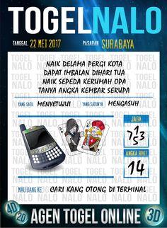 Paito JP 5D Togel Wap Online TogelNalo Surabaya 22 Mei 2017