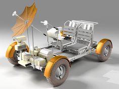 vesmírné auto (lunar rover)