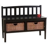 Found it at Wayfair - Harrison Wood Storage Bench