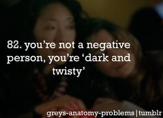 Grey's Anatomy Problems can i have the shirt with this on it? kay thanks..