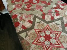"Wilma´s Homemade Quilts: ""The New Hexagon Quilt-Along"",..."