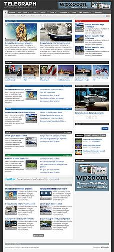 telegraph wordpress theme   WordPress Blog & Magazine Themes - wordpress themes for sale  http://themeforest.net/?ref=szamriy
