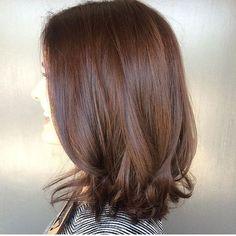 Dark chocolate hair colour by #jonathanandgeorge