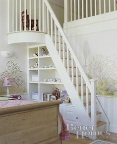 Great use of space below the stairs!