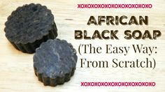 I LOVE using African black soap for my skin care regimen and also for shampooing and clarifying my hair. African black soap is excellent for skin and scalp care in general. I wanted to share a simp…