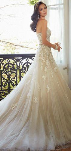 Sophia Tolli 2015 Bridal Collection | [ HGNJShoppingMall.com ] #Fashion #shop #deals