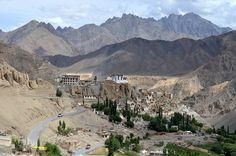 Ladakh landscapes Lamayuru Monastery
