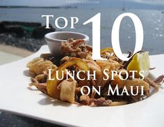 Skip the drive thru and enjoy lunch in #Maui with a view!