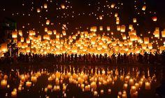 Festival das Lanternas (Yi Peng), Tailândia