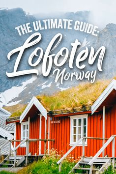 This ultimate guide to Lofoten is based on my recent experiences and is filled with helpful tips to make planning your Lofoten trip a little easier. Keep reading for my best tips on when to go, what to do and how to plan your Lofoten trip. Backpacking Europe, Europe Travel Guide, Travel Guides, Travel Abroad, Cool Places To Visit, Places To Travel, Places To Go, Europe Destinations, Norway Travel