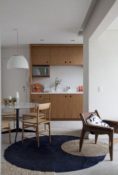 small kitchen with dining room