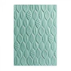 Sizzix-661260-3-D-Textured-Impressions-Embossing-Folder-Leaves-by-Lynda-Kanase