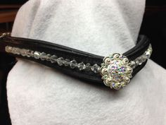 Opalescent Bling Browband for Horse Bridle by OkoKonia on Etsy