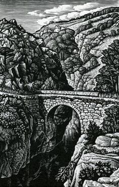 A Packhorse Bridge, Provence by Howard Phipps