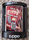 ZIPPO LIGHTER NEON SIGN 24069 NEW ORANGE WARNING LABEL STILL INTACT - 24069, Intact, label, Lighter, Neon, Orange, Sign, STILL, WARNING, Zippo