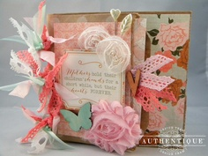 """Authentique Paper: Paper Crafting Projects for Mom with """"Grace"""""""