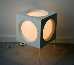 1960 lamp light. It reminds me of a disc