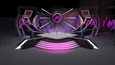 stage design for music concert