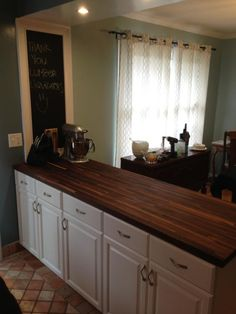 Find This Pin And More On Kitchen Ideas X American Walnut Countertop Williamsburg Butcher Block Co