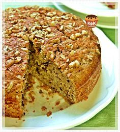 Muzlu Cevizli Tarçın Keki tarifi Cake Recipes, Dessert Recipes, Desserts, Cooking Time, Cooking Recipes, Pasta Cake, Cheesecake, Quick Cake, Turkish Recipes