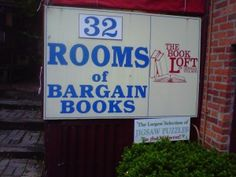 The Book Loft, Columbus, Ohio. Best Indie book store in the US.