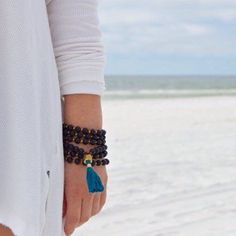 Hand-made, yoga-inspired jewelry. Natural stones accented with silver and gold charms. Jewelry for life. Silver Sage, Yoga Inspiration, Photo And Video, Beach, Check, Earrings, Leather, Blog, Accessories