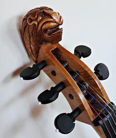 Cello.  Musical beast by Tatyana Druz, via 500px