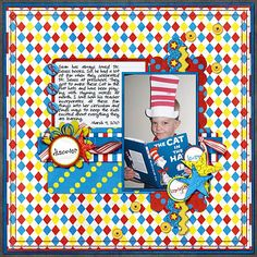 cat in the hat page