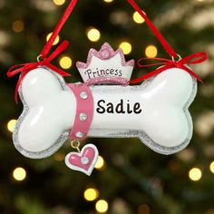 I can make this - Actually  instead of ornaments name tags over their beds!