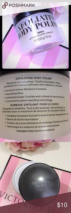 Victoria's Secret Victoria's Secret exfoliating body polish in Shea cotton moisture complex. Amazing product. Brand new Victoria's Secret Makeup