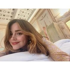 "Jenna Coleman on Instagram: "". . #queenjennax #jennacolemanfans #jennacoleman #jennacolemanbeauty #jennacolemanisperf #impossiblegirl #claraoswald #oswinoswald…"""
