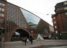 University of Helsinki Library. Anttinen Oiva Arkkitehdit. Helsinki, Finland