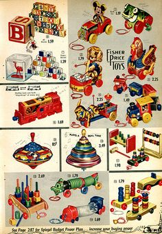 christmas toys and games catalogue – weihnachtsspielzeug und spiele katalog – catalogo di. Photo Vintage, Vintage Love, Vintage Ads, Vintage Advertisements, Vintage Prints, Vintage Dolls, Jouets Fisher Price, Fisher Price Toys, Vintage Fisher Price