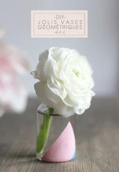 Diy jolis vases gomtriques crazy girls and weddings vase gometrique diy solutioingenieria Image collections