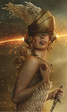 Celestial Warrior Leah by Carlos-Quevedo on deviantART (cropped for detail)