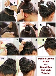 Amazing 1000 Images About Donut Bun Hairstyles On Pinterest Sock Buns Short Hairstyles For Black Women Fulllsitofus
