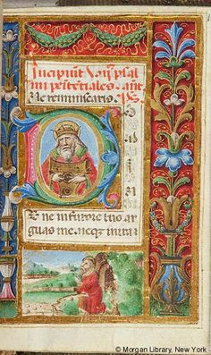 Book of Hours, MS W.26 fol. 109r - Images from Medieval and Renaissance Manuscripts - The Morgan Library & Museum