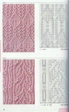 Watch This Video Beauteous Finished Make Crochet Look Like Knitting (the Waistcoat Stitch) Ideas. Amazing Make Crochet Look Like Knitting (the Waistcoat Stitch) Ideas. Cable Knitting Patterns, Knitting Stiches, Knitting Charts, Lace Knitting, Knitting Designs, Knitting Projects, Crochet Stitches, Knit Lace, Lace Patterns