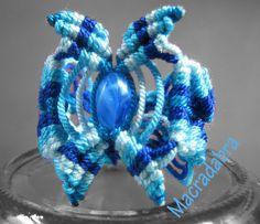 Macradabra: Fantasía Azul #Macrame