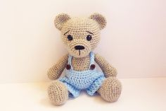 Looking for your next project? You're going to love Crochet teddy Bear Boy Classic  by designer Anat Tzach.