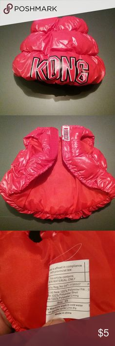 🐶Puppy puffy  jacket This is a warm KONG puffy coat for a puppy or extra small dog KONG Other
