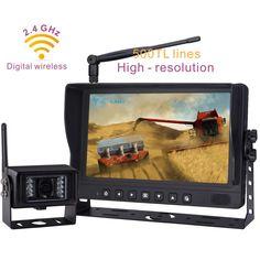 "9""Digital Wireless Camera Monitor Systems Built-in 2.4GHz Digital Wireless Receiver with 1pcs Camera"