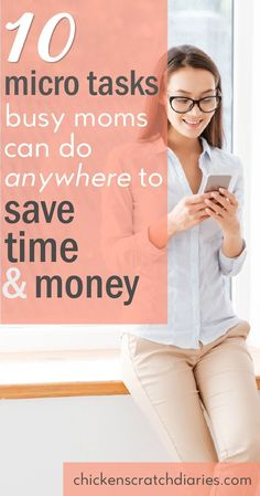 -Ways to Save Time and Money- very helpful tips for moms always on the go! (Because #momlife involves a LOT of hurry up and wait!) #MomLife #Productivity #Budget #Organization