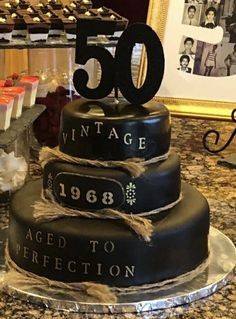 21 Best 50th Birthday Cakes For Men Images