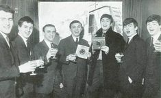 Gerry and The Pacemakers and The Beatles. What they had in common is: They came from Liverpool, were managed by Brian Epstein and were recorded by George Martin.