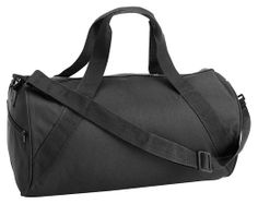 066007d2d575 Liberty Bags Shoulder Strap Barrel Duffel Bag (8805) (Black) Duffel Bag