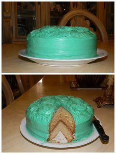 Yellow cake.