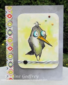 Crazy bird by lotsofstamps - Cards and Paper Crafts at Splitcoaststampers