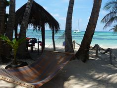 Little Corn Island, Nicaragua. This is a picture from the bungalow place I just stayed at!